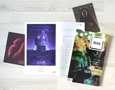 'ekrany' magazine collaboration with © Plakiat