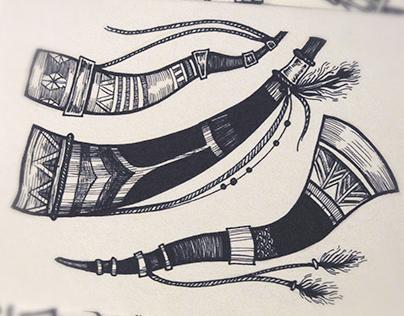 Ethnic design elements