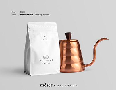 Microbus Koffie Brand Identity & Packaging Design