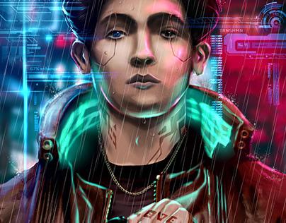 Cyberpunk fanart
