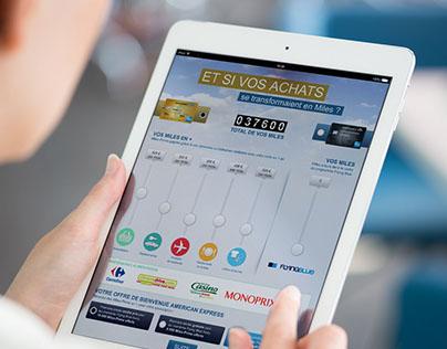 American Express offline Webapps