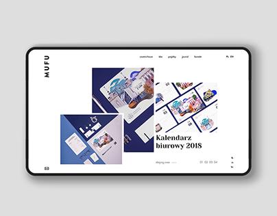 MUFU - portfolio website