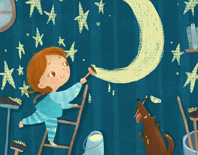 My starry world: Illustrations inspired by the stars