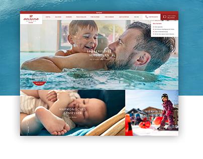amiamo Hotel - Website Relaunch