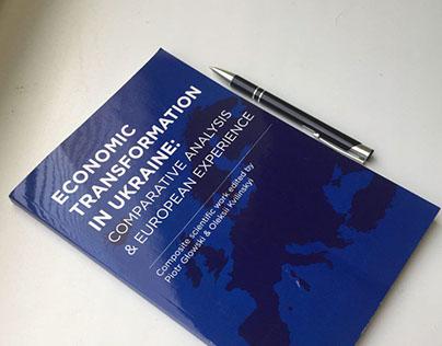 Economic transformation | cover design