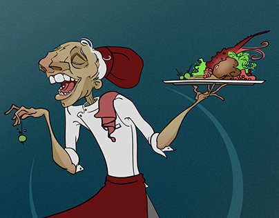 Character Design Challenge! The Master Chef