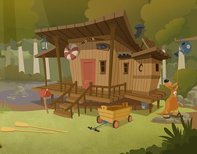 Het huis van Giraf