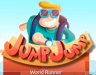 Jump Jump Game process