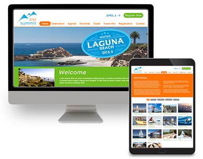 Summit Registration Website