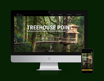 Treehouse Point Mobile and Web Design