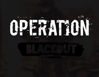 Operation Blackout - GUI Concept (2019)