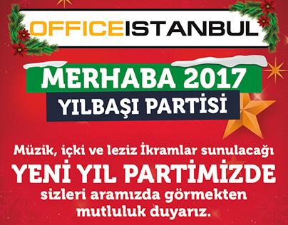 OFFICE ISTANBUL 2017 YENİ YIL TASARIMI