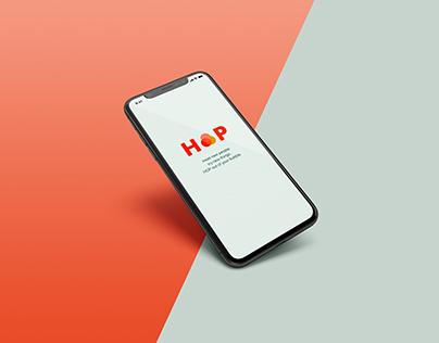 HOP App Design
