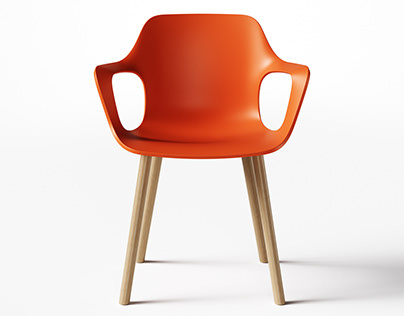 Vitra HAL Armchair CAD Sculpting Exercise