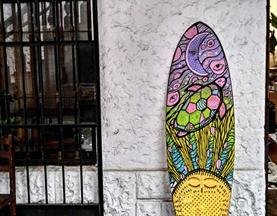 SURFBOARD PAINT
