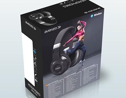 Packaging Auriculares / Headphones de Avenzo