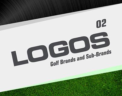 Logos Set 2 - Golf Brands (2006-2015)