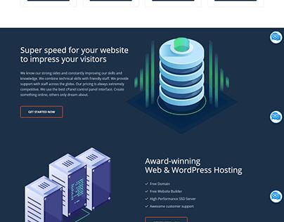 Hosting Elementor WordPress Website
