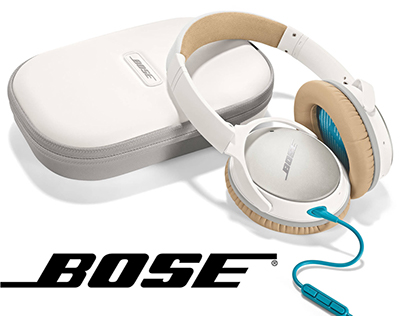 Bose Quietcomfort 25 Website Redesign Concept