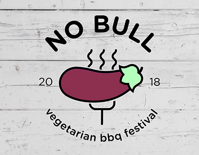 No Bull: Vegetarian Barbecue Festival // Branding