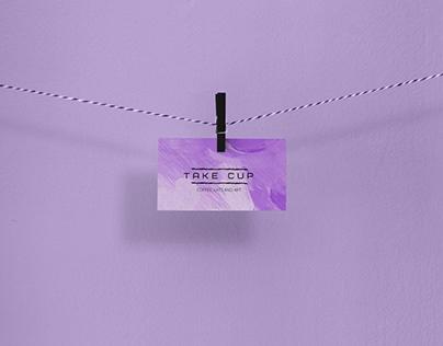 Дизайн визитки для кафе | Business card design