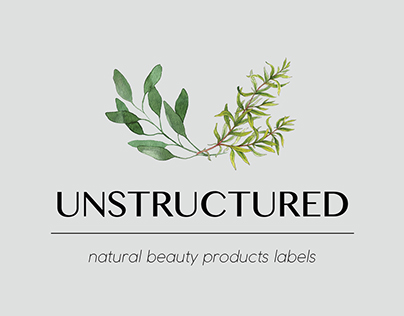 Unstructured - beauty products labels