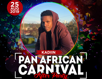 Pan Afrian Carnival After Party e-Flyers
