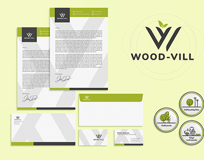 Wood-Vill Branding