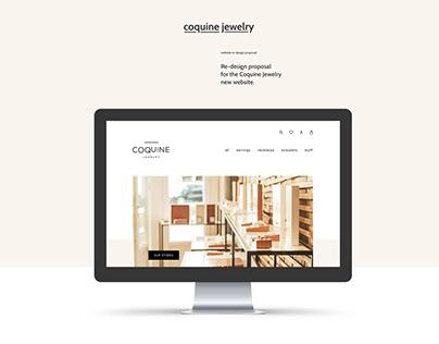 Coquine Jewelry Website