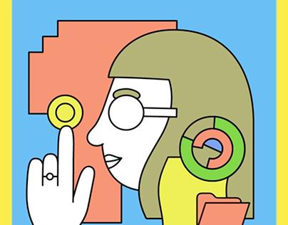 Brummel Magazine Cover Animation