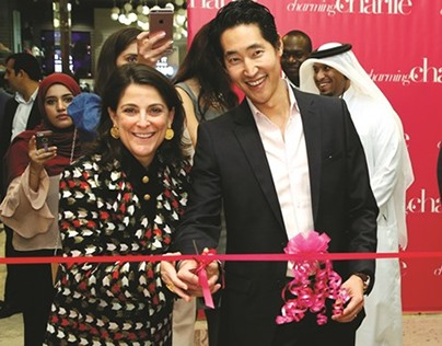 Charming Charlie Chanaratsopon opens new store at Qatar