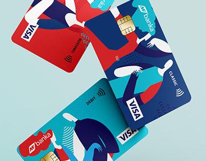 MF BANK / CREDIT CARD DESIGN