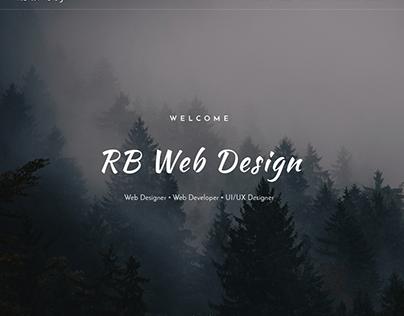 RB Web Design - Main Top