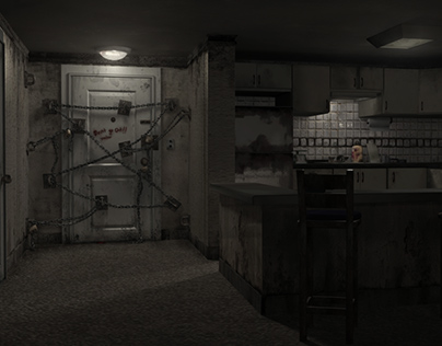 Silent Hill 4 - the Room (Renders)