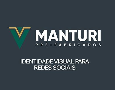 Identidade Visual I Manturi Pré-Fabricados