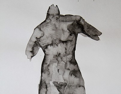 Nude ink illustrations, part 1