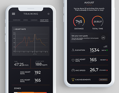 Cycling app concept