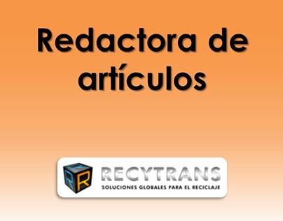 Redactora de artículos