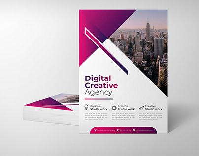 Digital Creative Agency Flyer