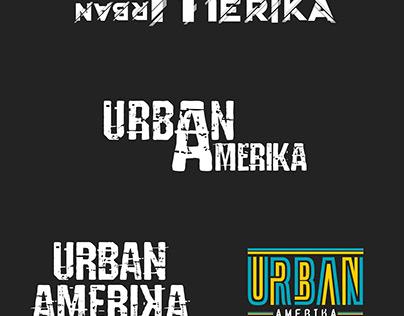 4 concept URBAN AMERIKA LOGO DESIGN
