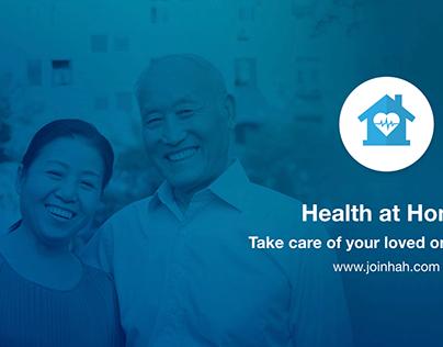 Health at Home - Presentation Slide