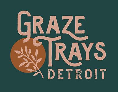 Graze Trays Detroit Logo