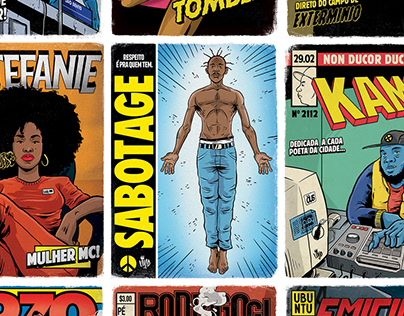 Projeto Rap em Quadrinhos