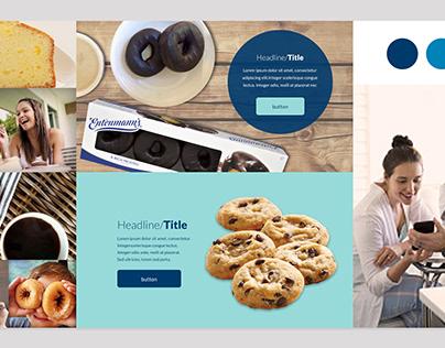 Entenmann's Website design and art direction