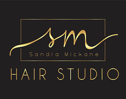 Sandra Mickane Logo Design