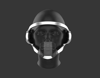 3D model face mask