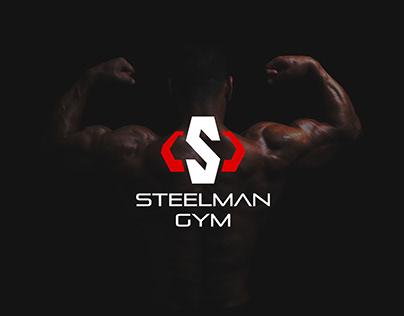 Steel Man Logo and Identity Design