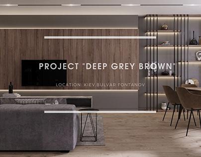 "DESIGN PROJECT ""DEEP GREY BROWN"""