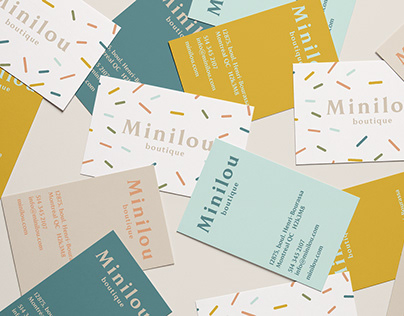 Minilou branding