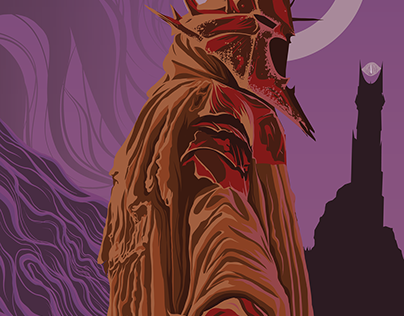 The Witch King Illustration